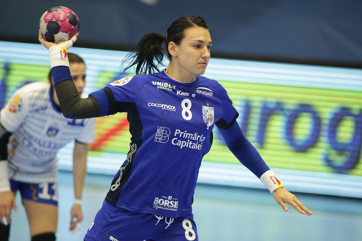 Handbal feminin- CSM București joacă cu ȚSKA Moscova în sferturile de finală ale Women EHF Champions League pentru accesul in Final 4