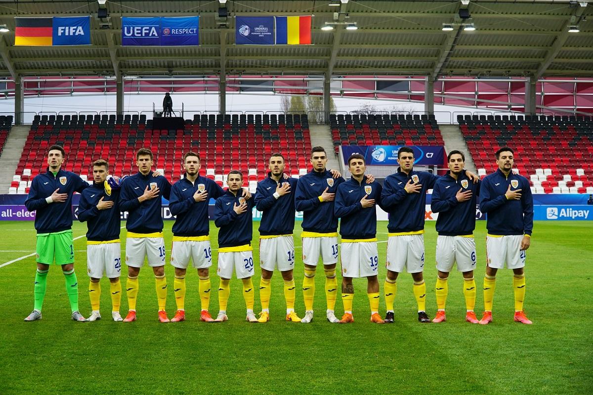 Meciul unei noi generații, România-Germania la Campionatul European Under 21