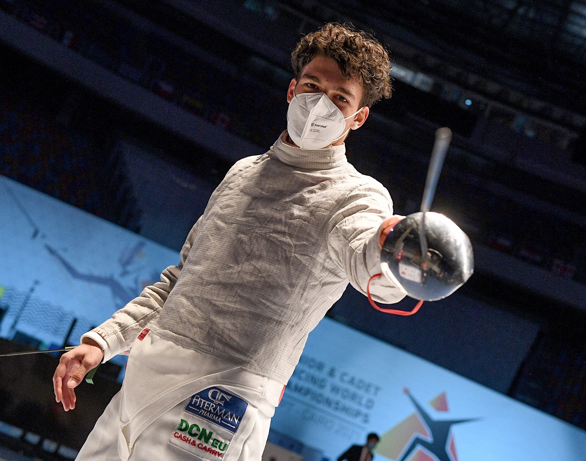 Aur pentru românul Marco Șovar la Campionatele Mondiale Juniori și Cadeți- Cairo 2021