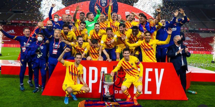 Messi își completează palmaresul cu încă o Cupă alături de FC Barcelona