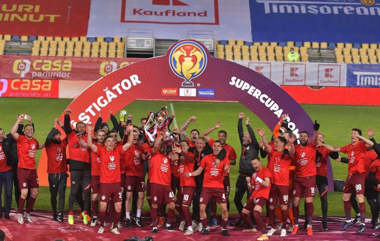 CFR Cluj câștigă Supercupa României la penalty-uri în dauna FCSB