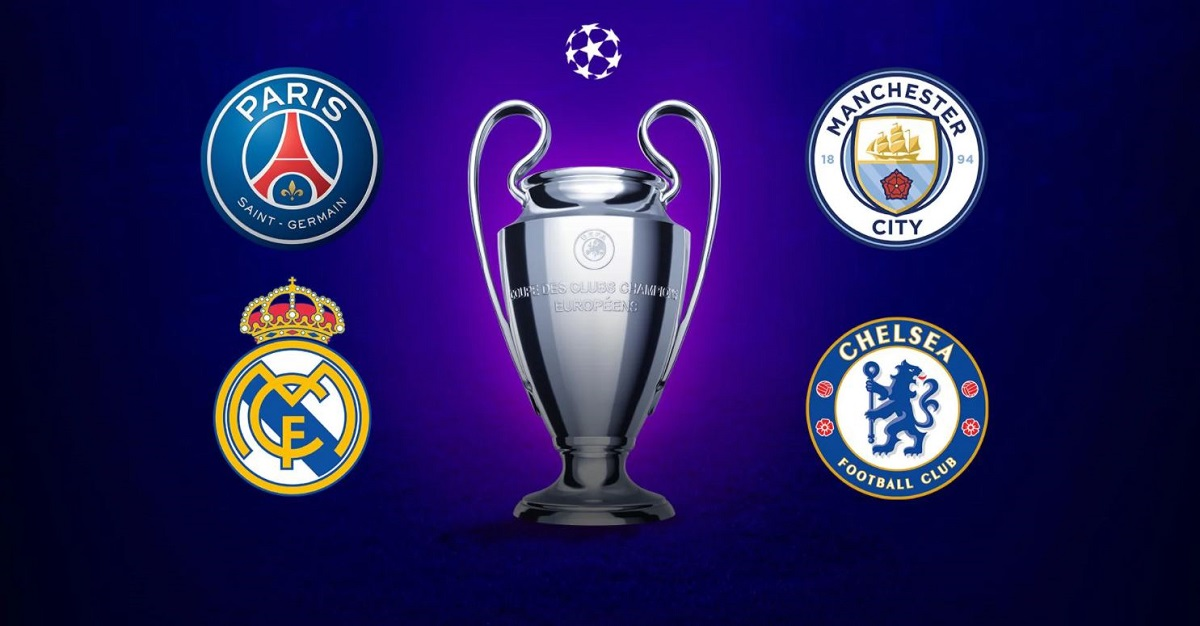 S-au stabilit semifinalele UEFA Champions League 2021