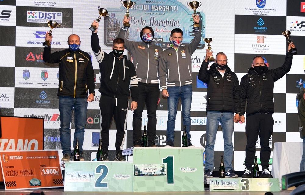 S-a alergat și Raliul Perla Harghitei, a 4-a etapă a CNR Betano