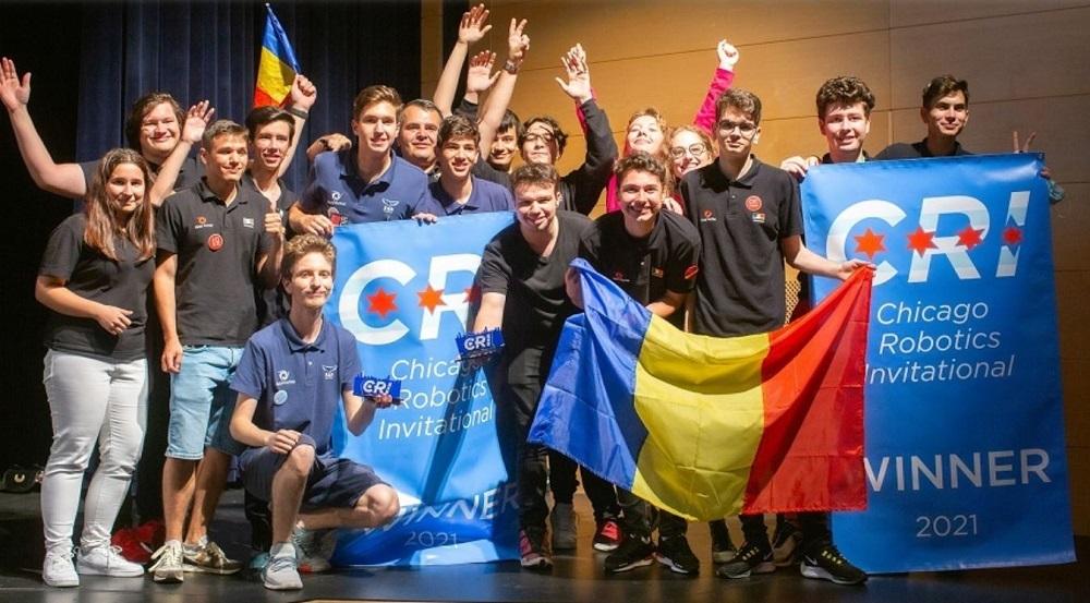 Echipa de Robotică a României a câștigat primul loc la Campionatul Internaţional de la Chicago. Bet on Future