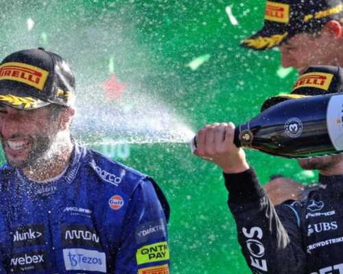Ricciardo învingător în Marele Premiu De Formula 1 al Italiei, accident Verstappen-Hamilton